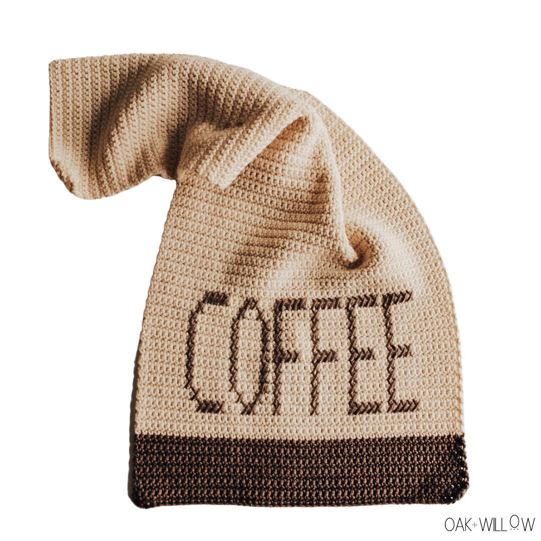 Coffee Dish Towel Crochet Pattern