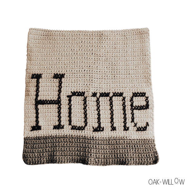 Home Dish Towel Crochet Pattern