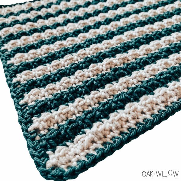 Stripey Wipey Dishcloth Crochet Pattern