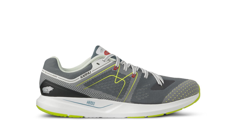 Karhu synchron ortix stormy weather lime punch left