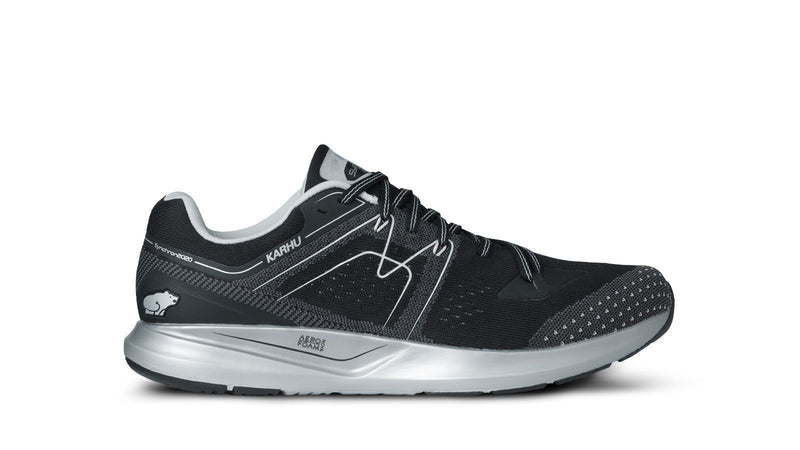 Men Syncrhon Ortix Jet Black/Glacier Grey Front Left