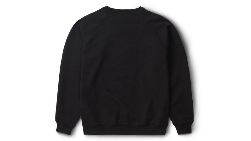 Team college sweatshirt - black KA00126-15MC back