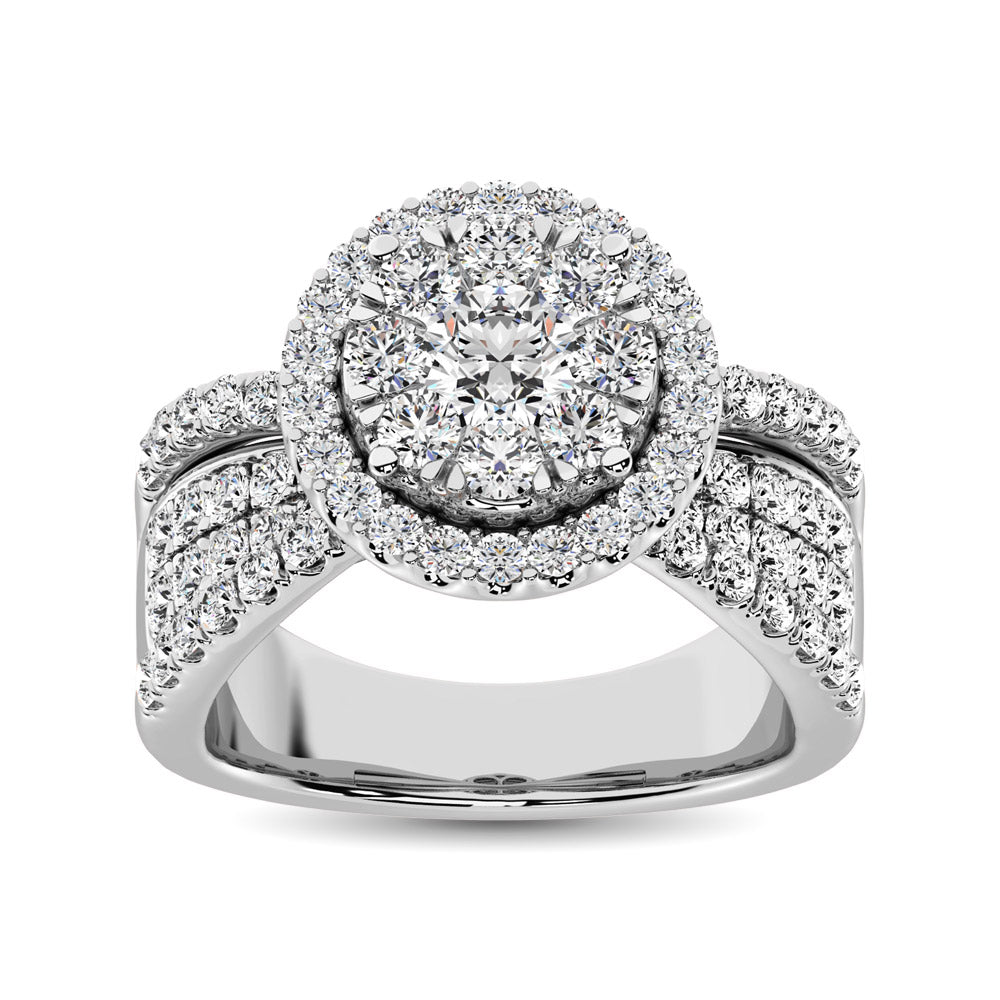 Diamond Engagement Ring 1.00 Carats 14KT Gold