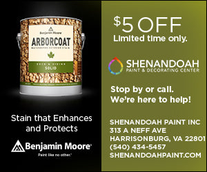 Benjamin Moore Ardborcoat Stain Offer - $5 Off Limited Time Only at Shenandoah Paint