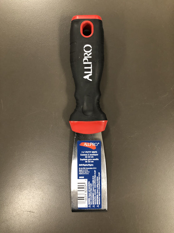 "ALLPRO 1.5"" Stiff Putty Knife"