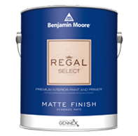 Regal® Select Waterborne Interior Paint - Matte 548
