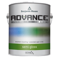 ADVANCE® Waterborne Interior Alkyd Paint - Semi-Gloss Finish 793