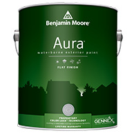 Aura Waterborne Exterior Paint - Flat Finish 629