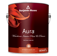 Aura® Waterborne Interior Paint - Satin Finish 526