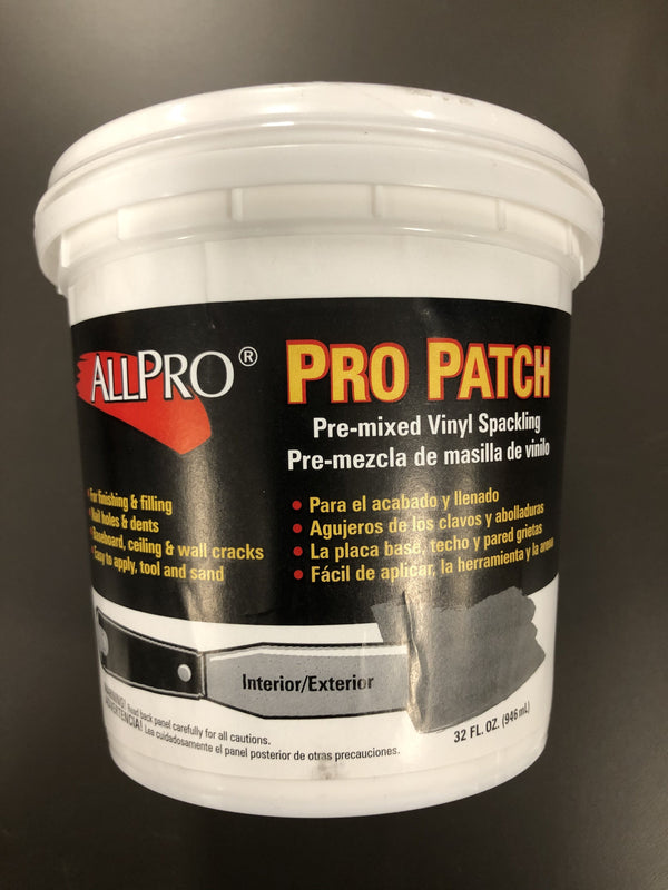 ALLPRO Pro Patch Spackle 1qt