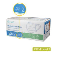 Load image into Gallery viewer, 3Ply Surgical Face Mask CE FDA Level 2