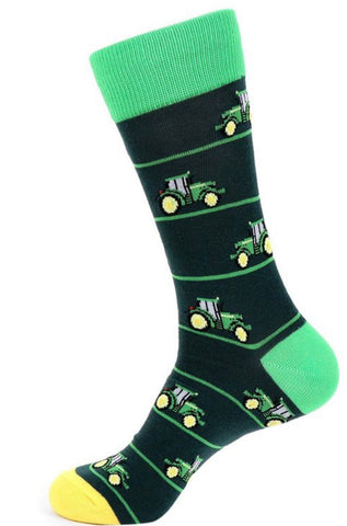 Green Novelty Sock (Buy 1 Give 1)