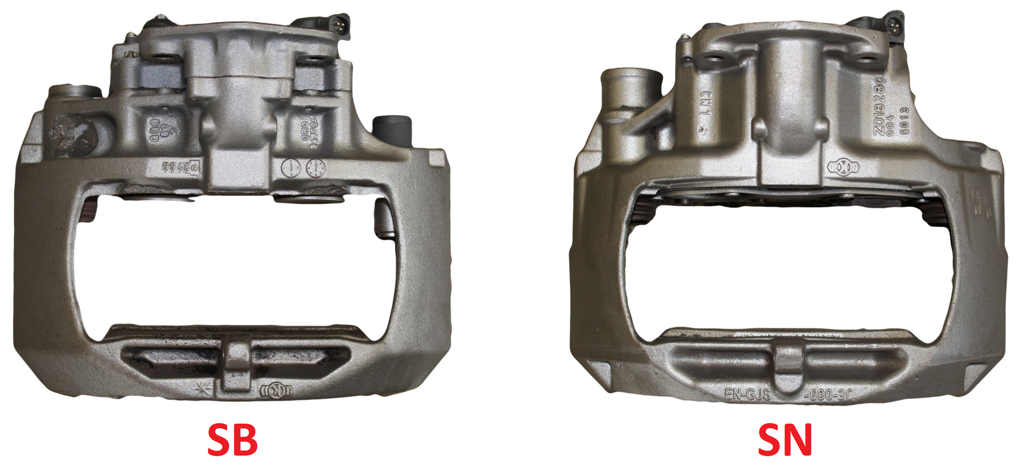 Knorr-Bremse SB7 and SN7 brake calipers - what is the difference?