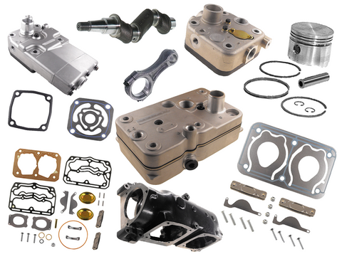 Repair Kits Compressor, Cylinder heads