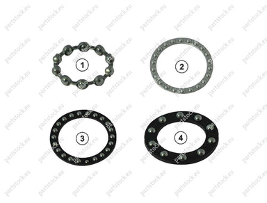 Bearing kit for Haldex Caliper. GK82307