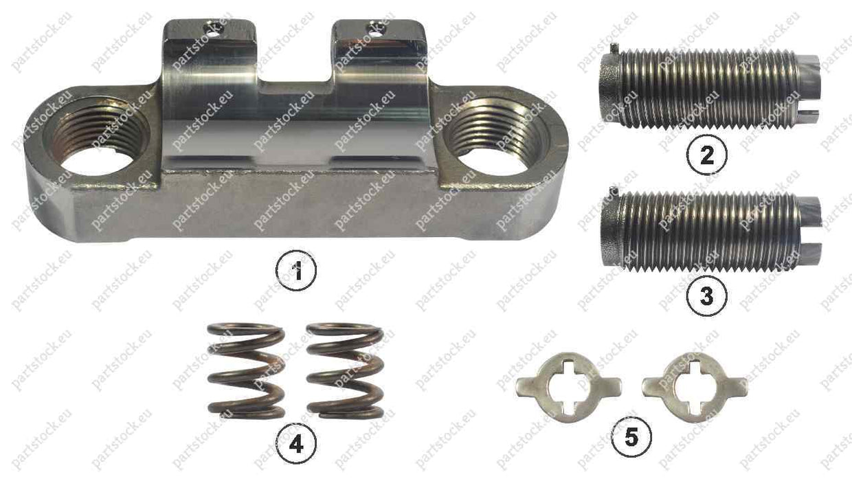 Bridge and calibration bolt kit for Wabco Caliper. GK83536