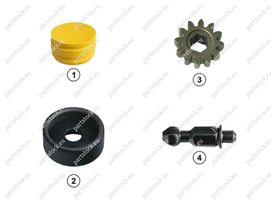 Adjuster pinion kit for Wabco Caliper. 81508226039, 6403229272