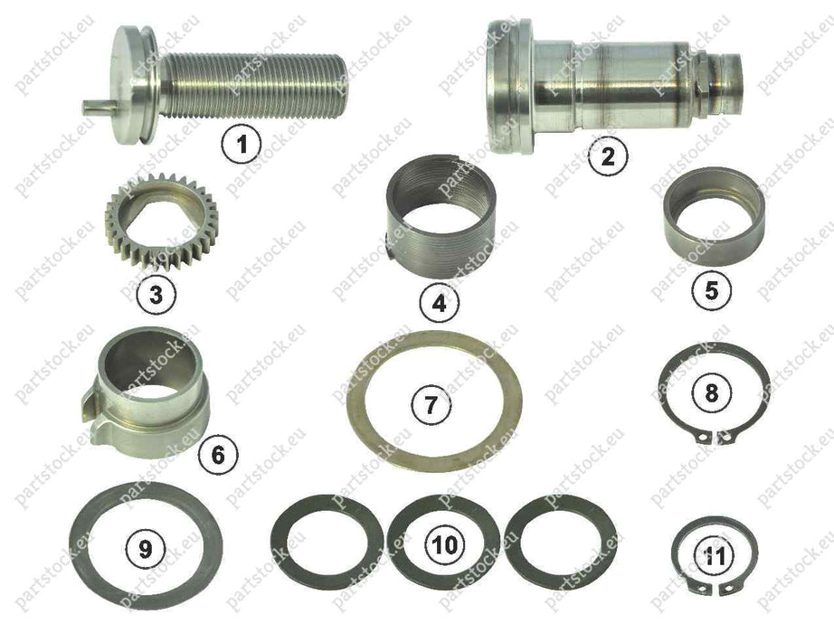 Adjuster mechanism kit for Wabco Caliper. GK83708