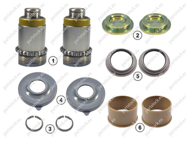 Calibration bolt and tappet kit (right) for Meritor Caliper. MCK1236, 3092262, CMSK.3.2