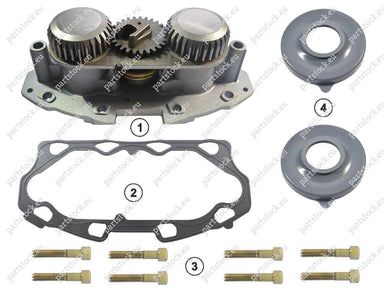 Adjuster mechanism and tappet kit for Meritor Caliper. GK88559