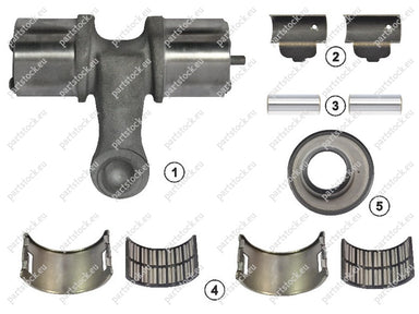 Lever kit (left) for Meritor Caliper. MCK1127, 85102097