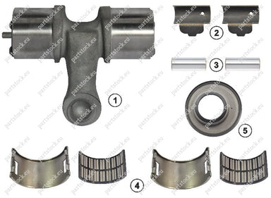 Lever kit (right) for Meritor Caliper. MCK1128, 85102098