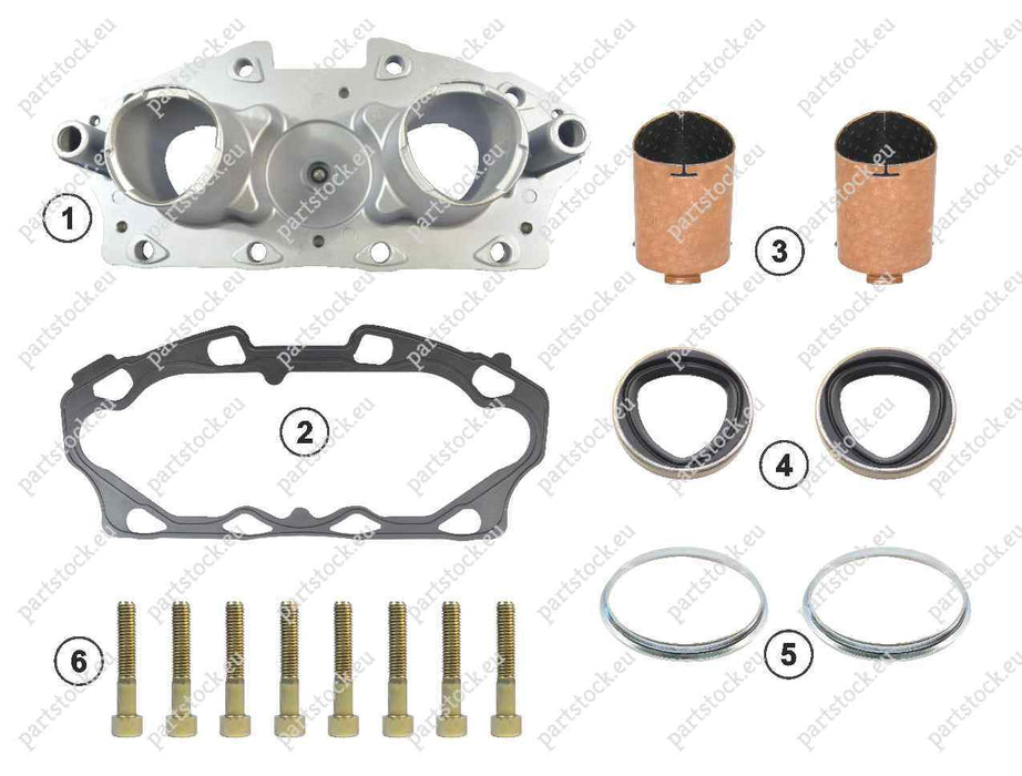Adjuster mechanism and tappet kit for Meritor Caliper. 68325646, CMSK.7.3
