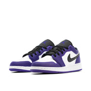 AIR JORDAN 1 LOW GS COURT PURPLE