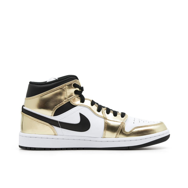 AIR JORDAN 1 MID METALLIC GOLD