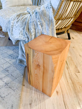 Load image into Gallery viewer, Modern Side Table - Natural Stump Side Table