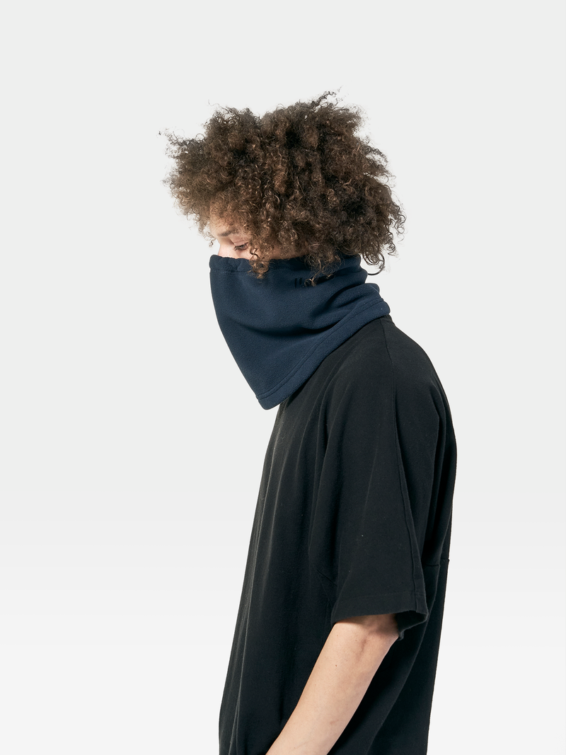 NGT-5-SW-USE THE UNUSED POLARTEC® NECK GAITER-CARBON BLUE