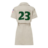 21GF3D01-Noodle Baseball Dress-Stone
