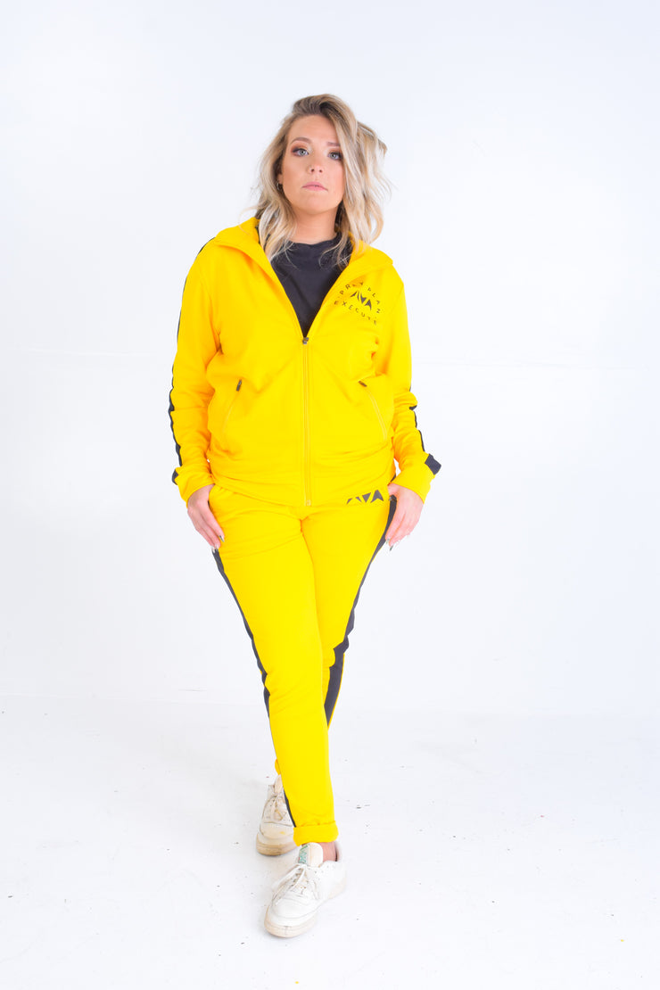 Yellow Premium Track Suit