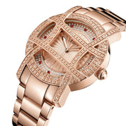 Olympia 10 YR 20 Diamonds 18k Rose Gold Plated