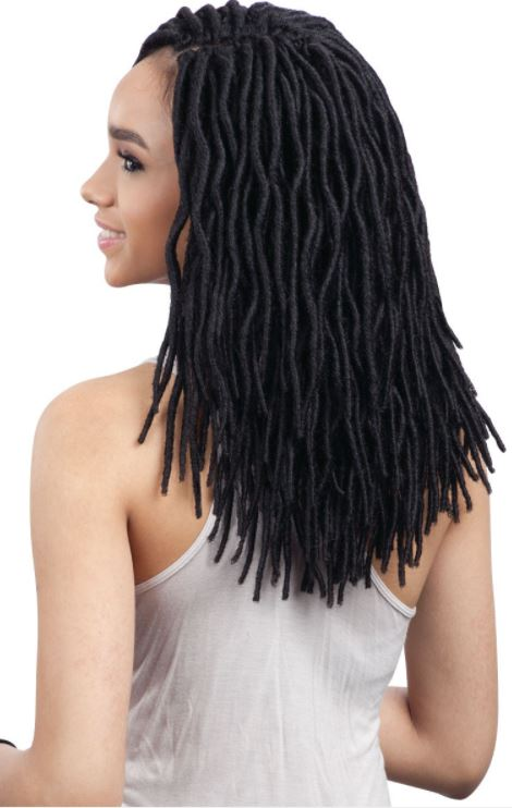 FREETRESS BRAID 2X SOFT FAUX LOC 12 INCHES COLOR  #BUG