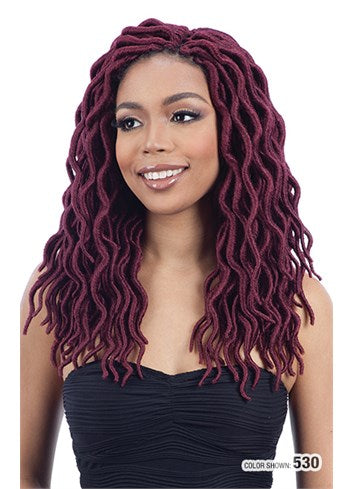 Freetress 2X LARGE SOFT WAVY FAUX LOC 14'' Color 4