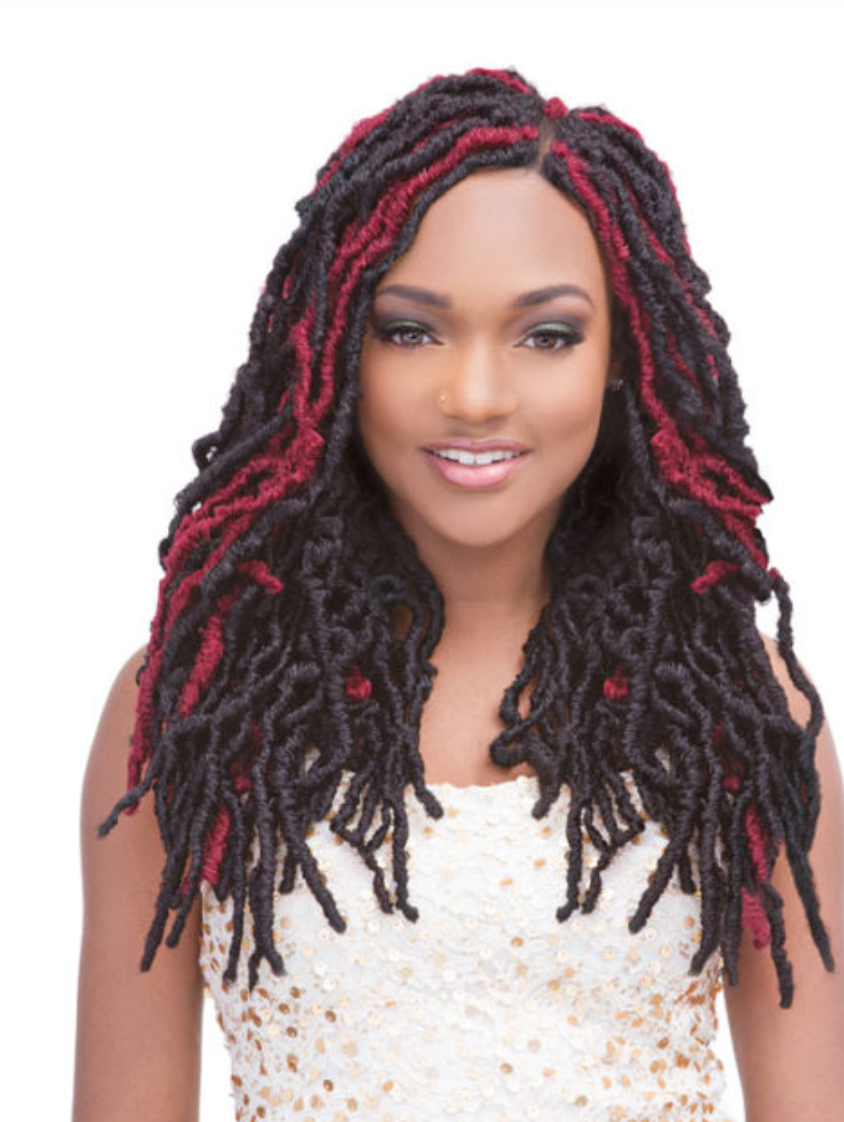 JANET COLLECTION  2X MAMBO NATURAL BORN LOCS 18''-1