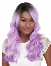Load image into Gallery viewer, JANET COLLECTION PASTEL NATALIE SYNTHETIC WIG COLOR  1B