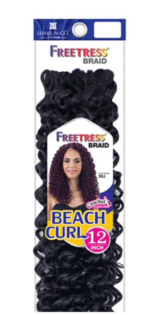 FREETRESS BEACH CURL 12