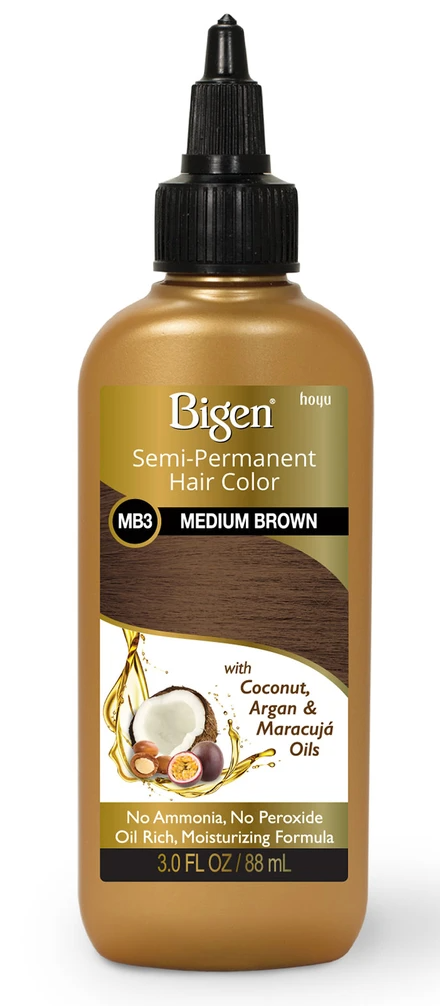 Bigen semi-permanat hair color (MEDIUM BROWN)