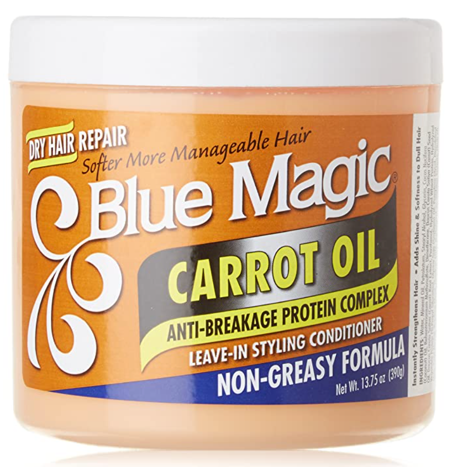 Blue magic Carrot Oil 13oz