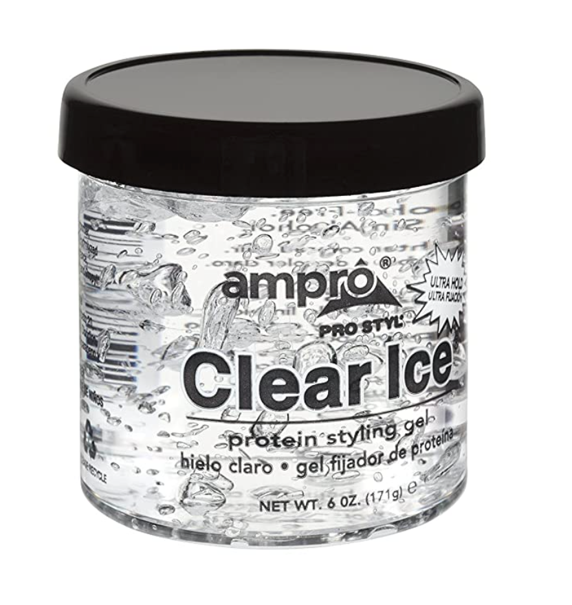 Ampro Clear ice ultra hold Protein Styling gel 6oz