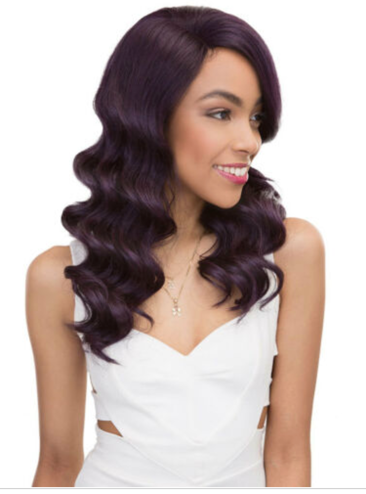 BRAZILLIAN SCENT JOOJO WIG -BLACK PURPLE