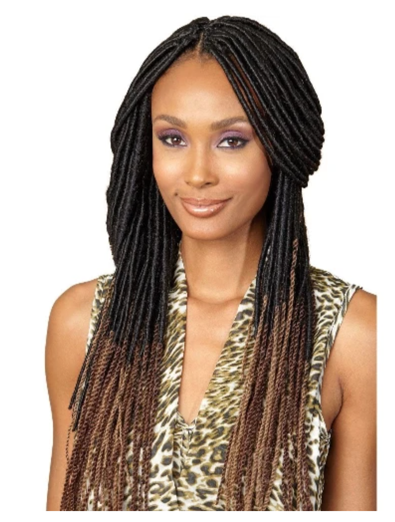 BOMBA FAUX LOCS DREAD BFLDRED-20 #T1B/DGREEN