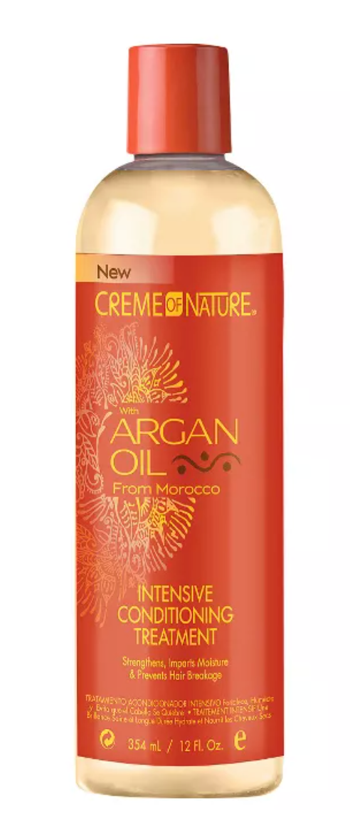 Creme of nature argan oil mositure and shine curl activator creme