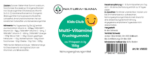 Multi-Vitamine für Kinder