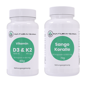 "SET ""Vitamin D3, Vitamin K2 und Calcium"""