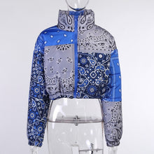 Load image into Gallery viewer, Bandanna Puffer Jacket