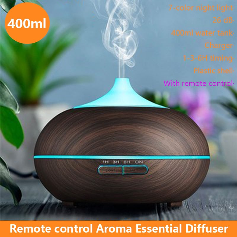 400ml Aromatherapy Diffuser Humidifier Mist Maker