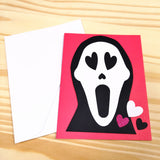 """You Make My Heart Scream"" Valentine's Day Greeting Card"